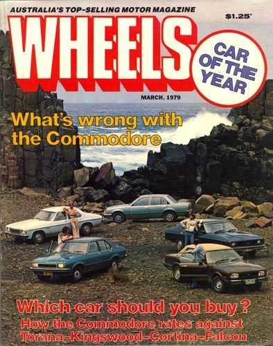 Wheels March 1979 magazine cover