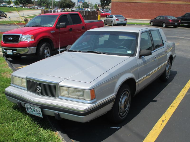 Automotive history the curbside classic comprehensive for 1993 chrysler new yorker salon sedan