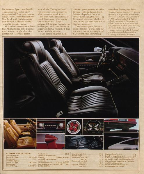 1979 oldsmobile starfire brochure 1