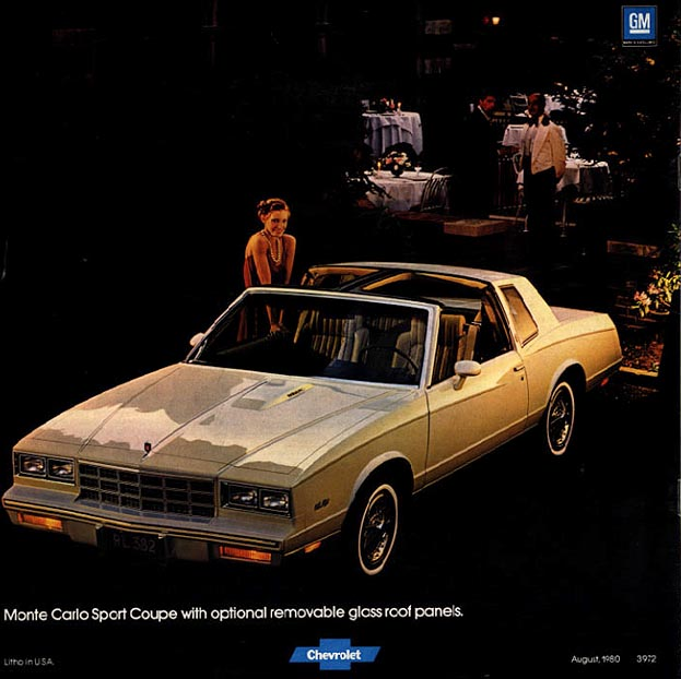 Vintage Ad 1981 Chevrolet Monte Carlo Turbo  One Of The Rarest