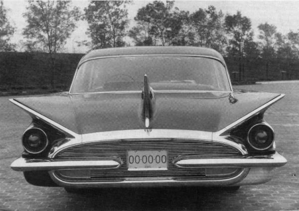 Buick 1959 concept tri-fin