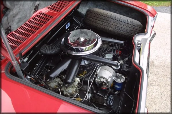 Corvair Engine Bay