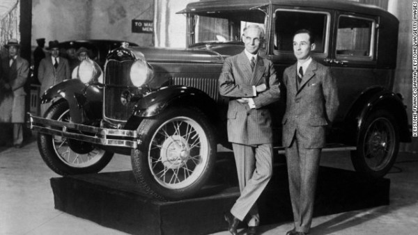 Ford 1928 Model A 1928 henry and edsel