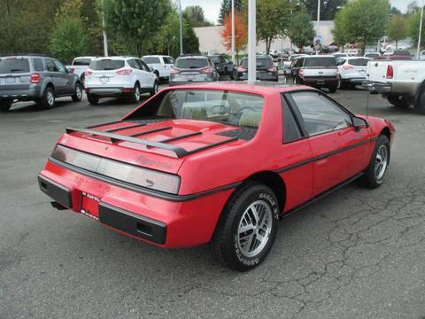 Pontiac 1984 Fiero rq