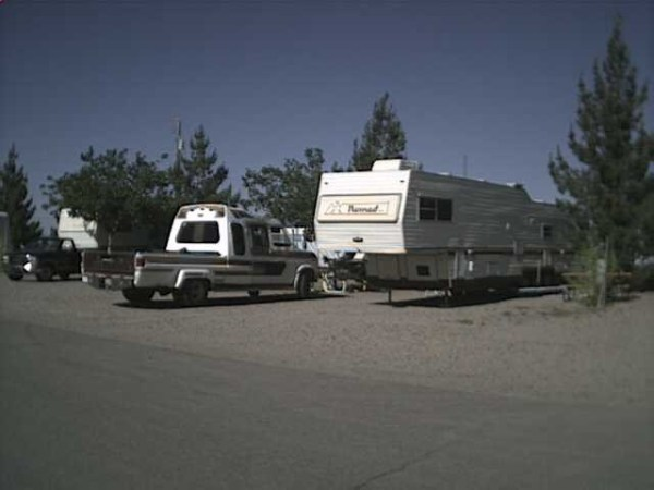 RV fifth wheel truckhouse
