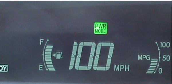 Toyota Prius 100mph
