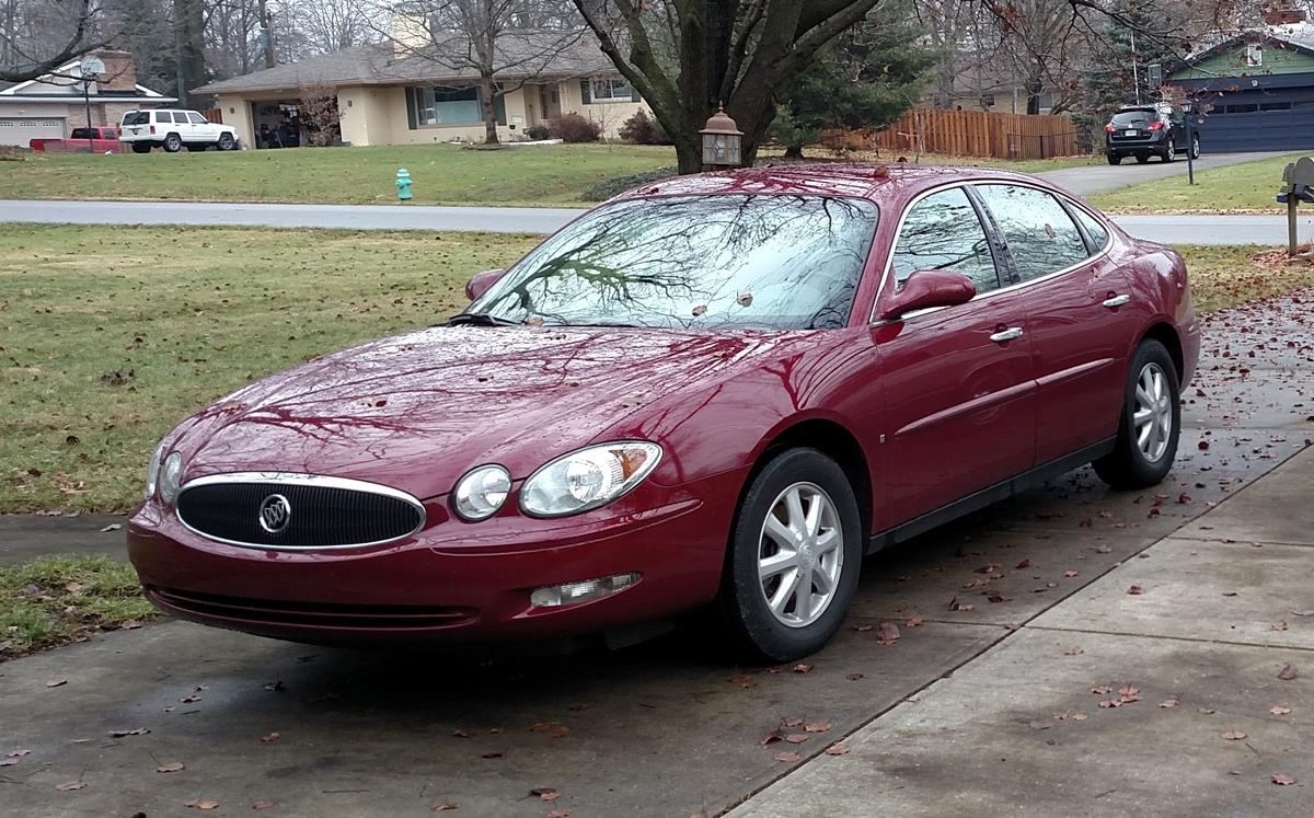 Buick LaCrosse: English and Metric Unit Conversion