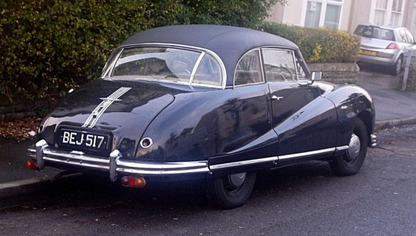 Austin A90_Atlantic_rear