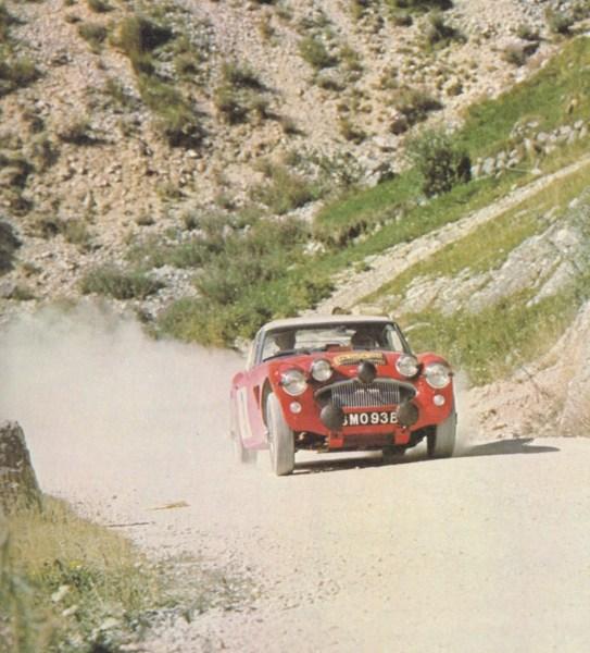 Austin Healey Alpine Rally