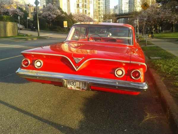 Chevrolet 1961 Bel Air 4 dr hdtp rear