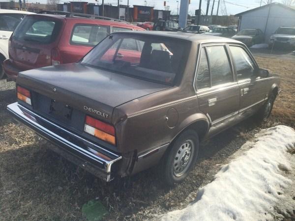 Chevrolet 1982 Cavalier sedan rq