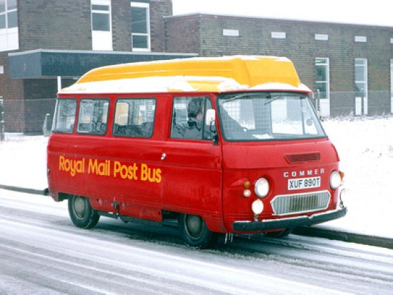 Commer psotbus