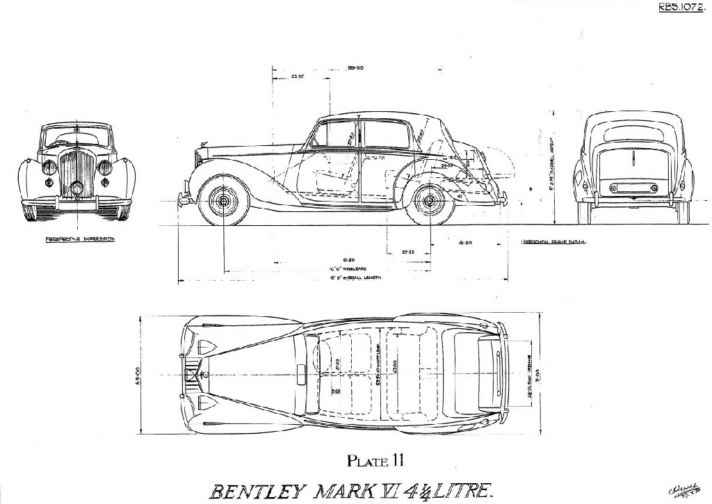 Automotive History: Who Actually Styled the 1952 Bentley