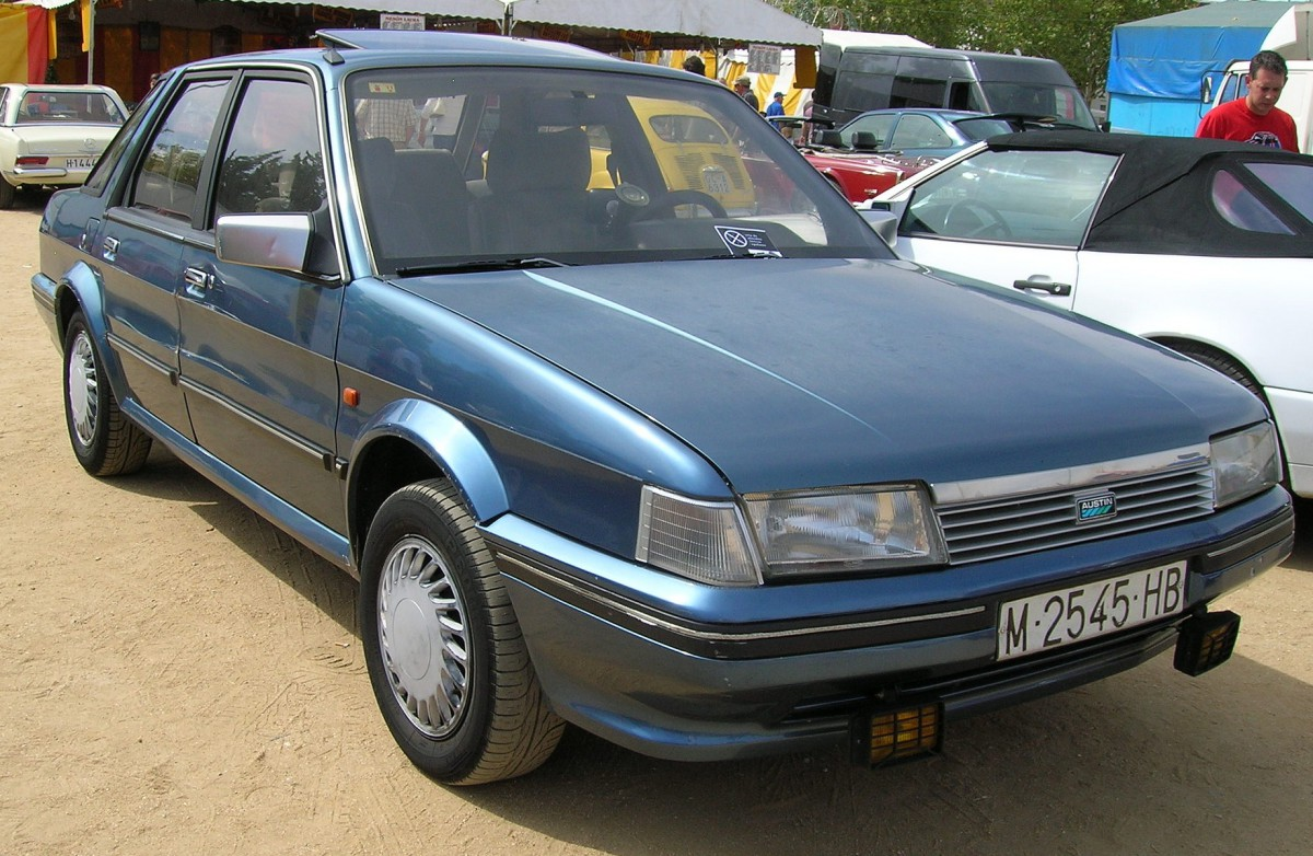 Curbside Classic: 1986 Austin Montego Mayfair – Coming Too Late To ...