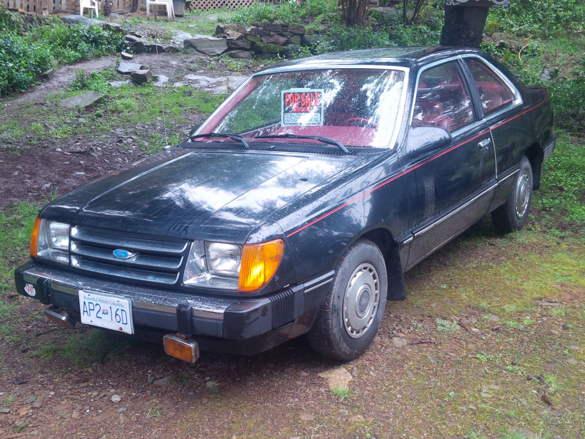 curbside classic 1984 ford tempo glx and where have you been hiding Ford Tempo
