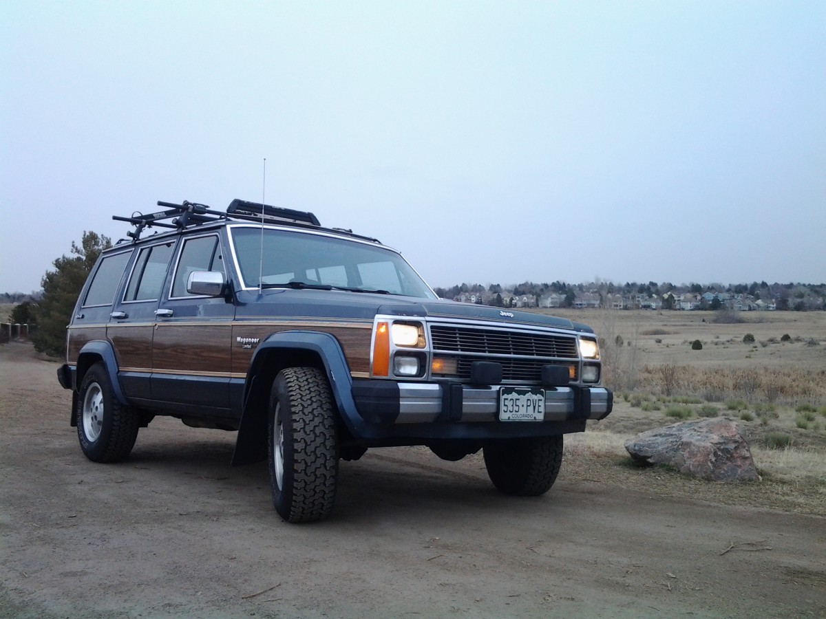 My Curbside Classic 1989 Jeep Xj Wagoneer Limited A Cherokee With
