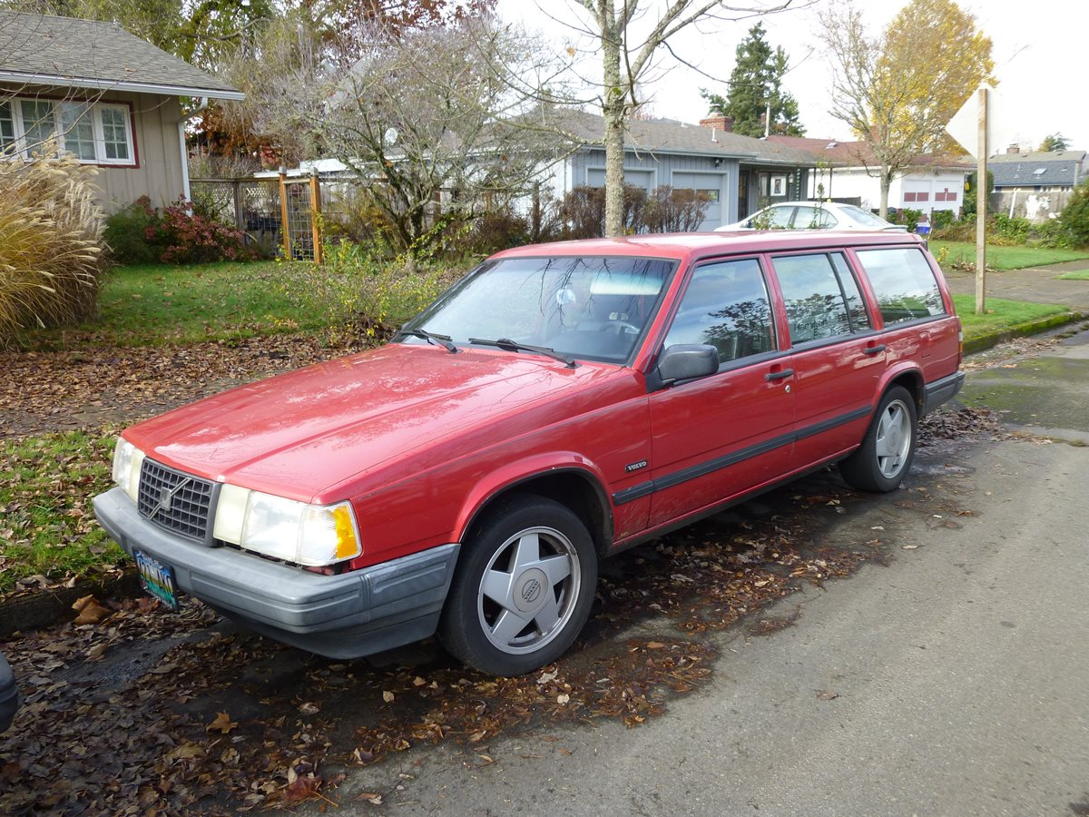 Curbside Classic 1991 Volvo 740 Turbo Wagon Deservedly Legendary