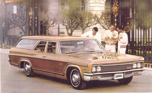 Chevrolet 1966 caprice wagon
