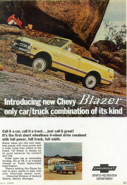 Chevrolet Blazer 1969