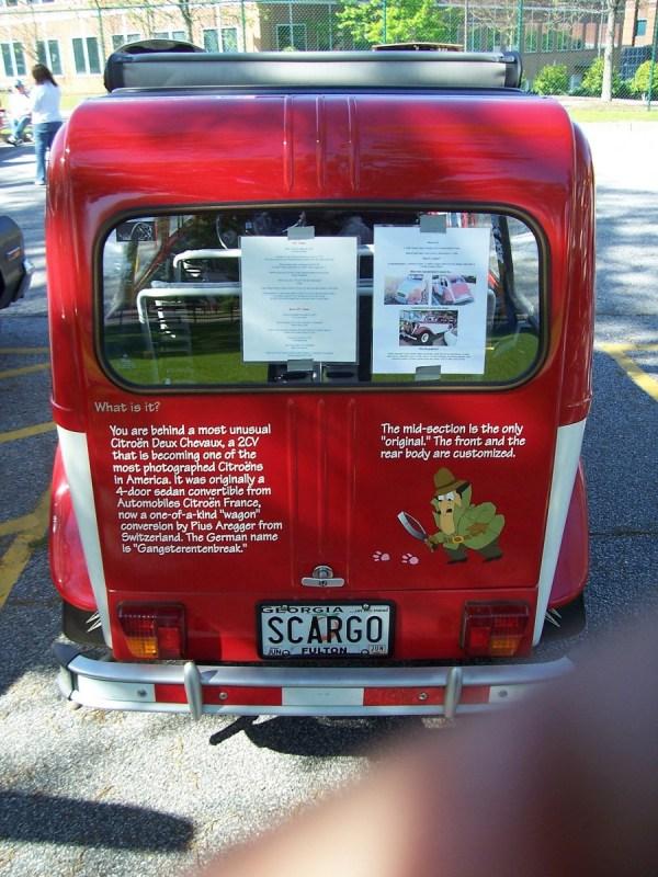 Citroen 2CV wagon rr