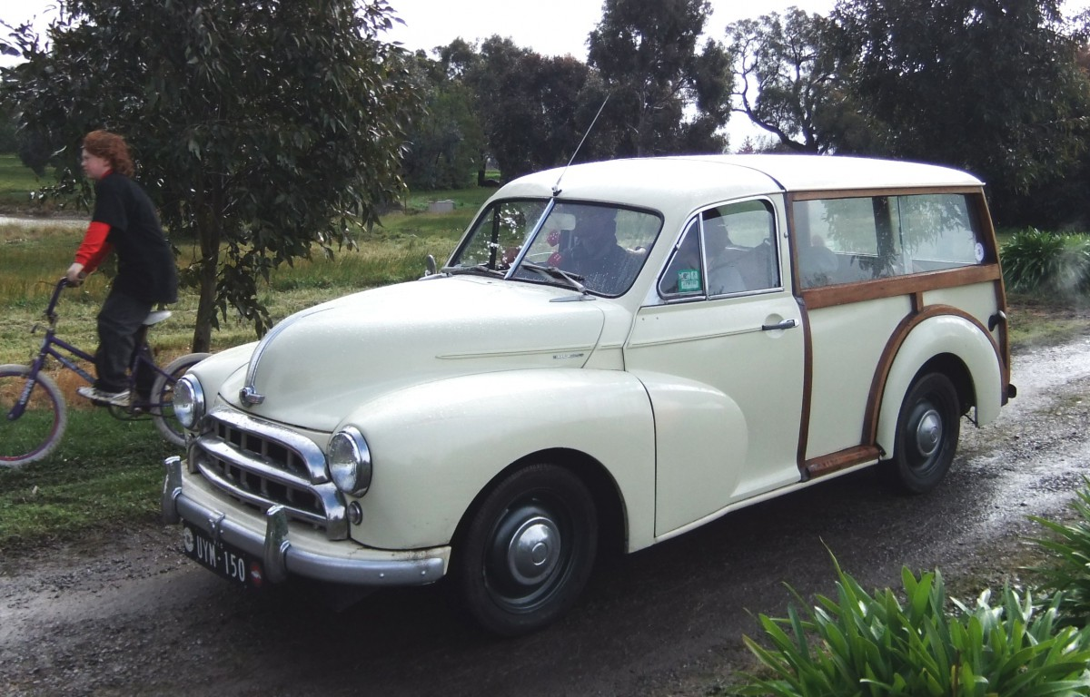 Curbside Classic: 1955 Morris Oxford Series II Traveller – From ...