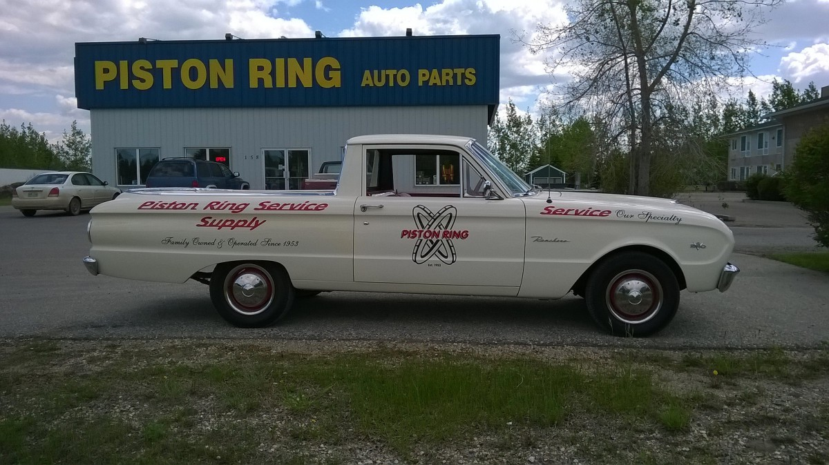 Cohort Outtake: 1963 Falcon Ranchero V8 – Hauling Piston