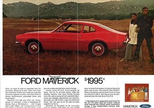 Ford Maverick 1970 ad