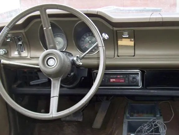 Ford Maverick 1970 dash