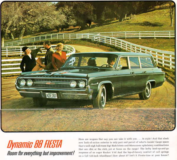 Olds 1964 dynamic 88 wagon