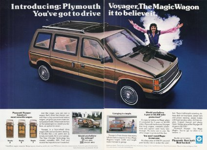 Plymouth Voyager doug henning