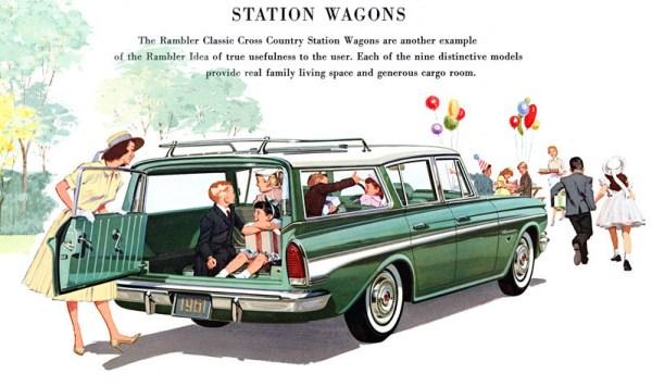 Rambler 1961 wagon ad