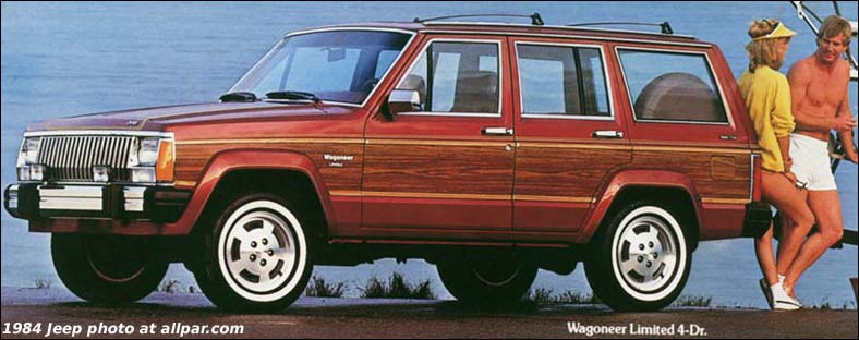 My Curbside Classic: 1989 Jeep XJ Wagoneer Limited – A Cherokee With a Few  Extras - My Curbside Classic: 1989 Jeep XJ Wagoneer Limited €� A Cherokee