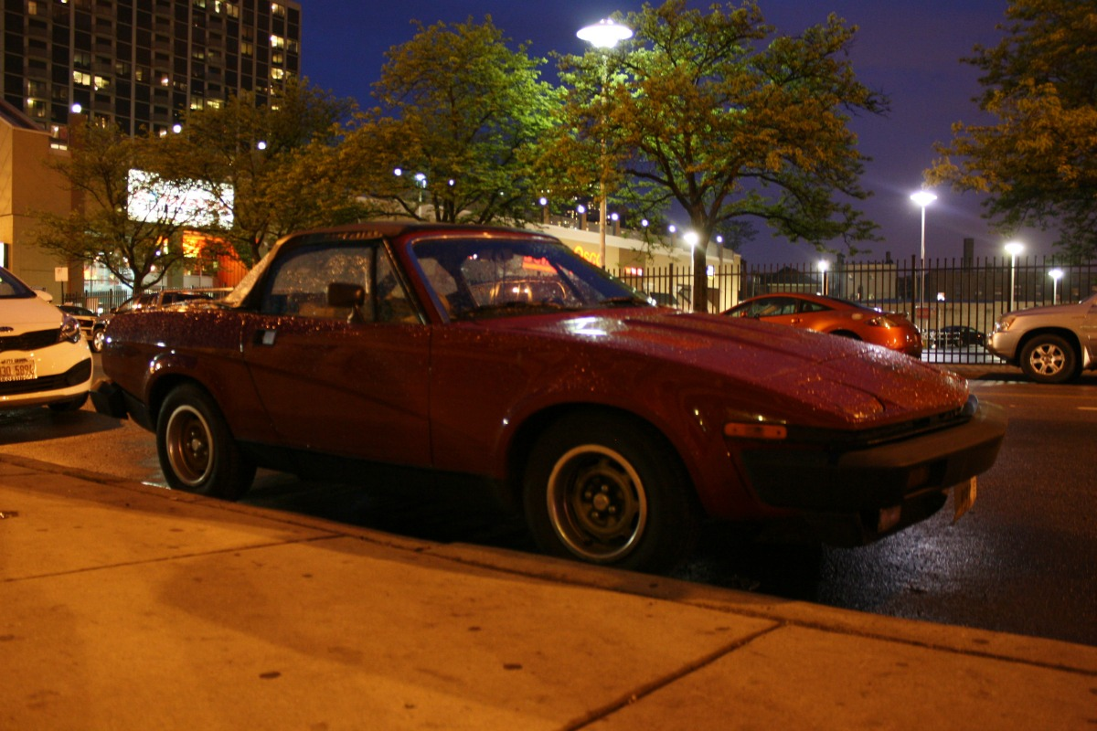 CC Outtake: 1979 Triumph TR7 Drophead – Hot Stuff | Curbside