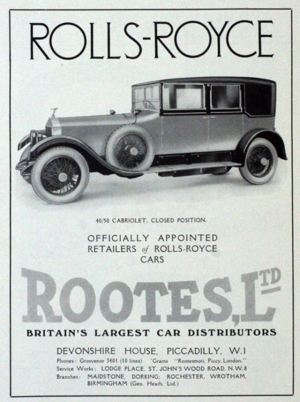 1927 Rootes advert (1)