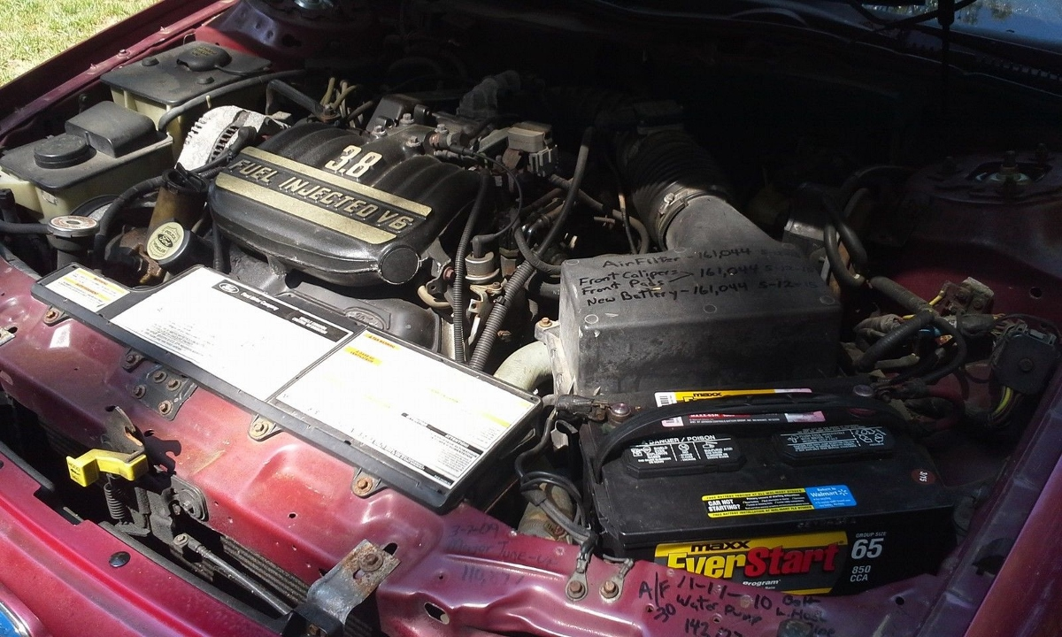 Perhaps the most impressive aspect of the police version of the Taurus was the engine. Ford managed to coax 225 lbs of torque from the optional 3.8 Essex V6 ... & eBay Find: 1995 Police Package Ford Taurus u2013 The Rare Crime ... markmcfarlin.com
