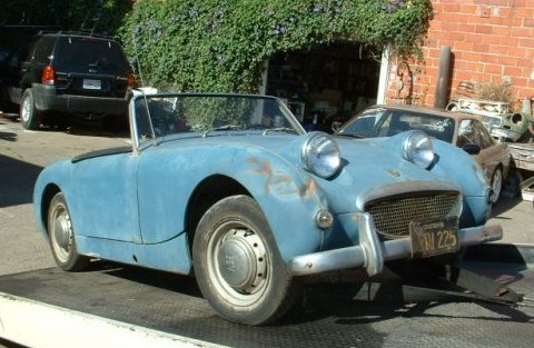 Austin Healey 1959 Bug_Eye_Sprite_Front_1