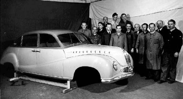 BMW 501 prototype at Reutters under coinstruction_0