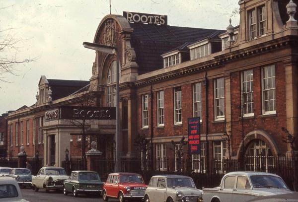 Barlby Road 1960s