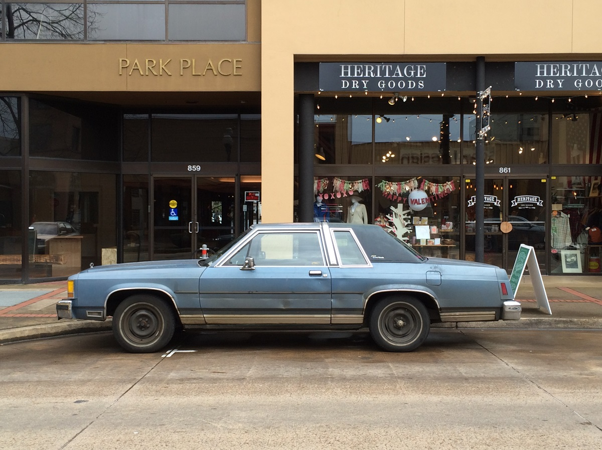 Cc Outtake Ford Ltd Crown Victoria The Endangered Box Panther 1970