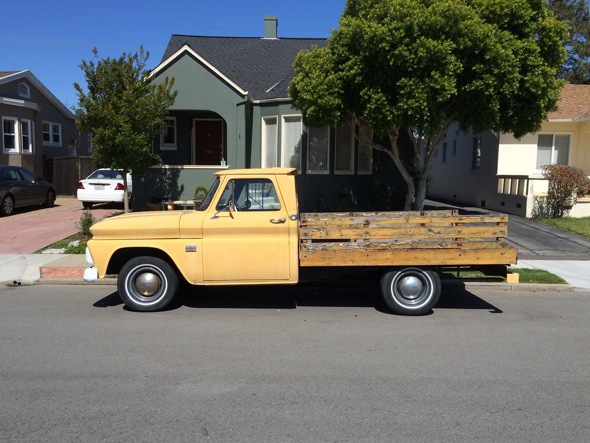 Cc Outtake 1966 Chevrolet C10 Mini Stake Bed Truck 1954 Chevy Pick Up