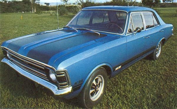 Chevrolet BR Opala SS 1971