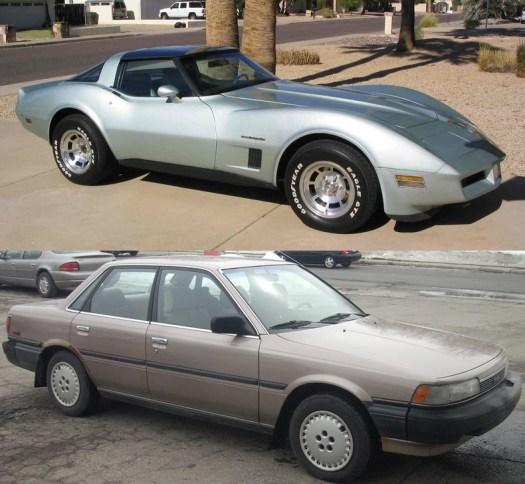 Corvette 1982-vert