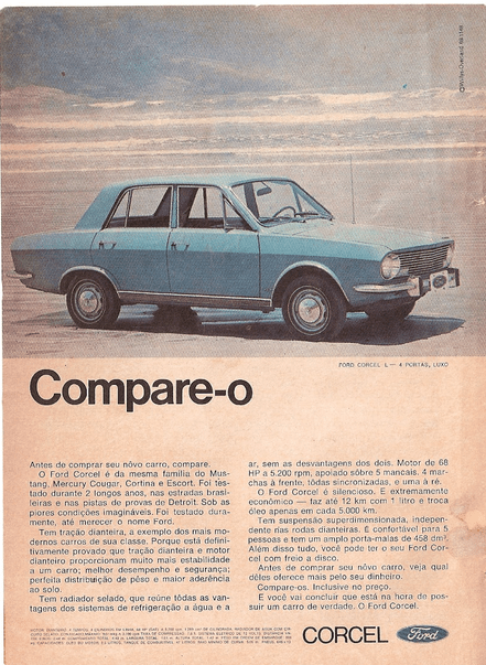Ford Corcel 1 ad