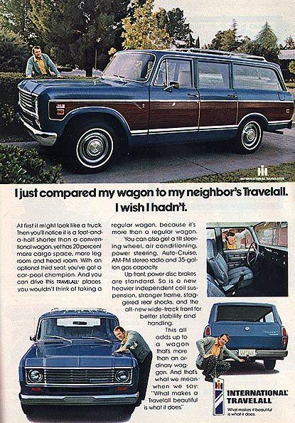 IH 1974 travelall ad