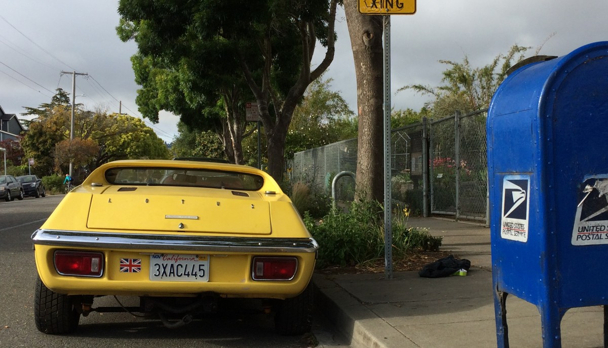 Curbside Classic: 1972 Lotus Europa S3 Twin Cam – Magnificence in