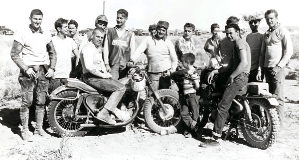 Motorcyclists 1950s