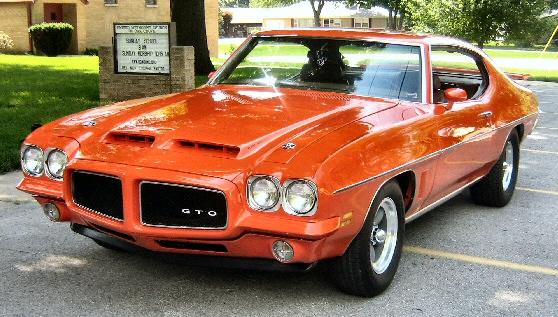 Pontiac 1972 GTO or