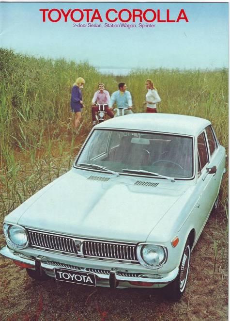 Toyota 1968 CorollaBrochure