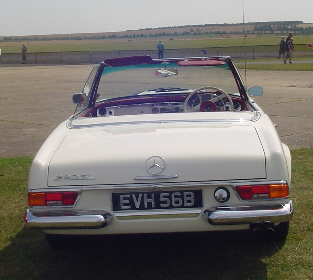 Mercedes Benz 250sl: Carshow Outtake: The Convertibles Of Europe