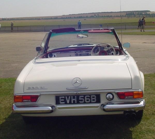 1964 Mercedes Benz 230SL-1